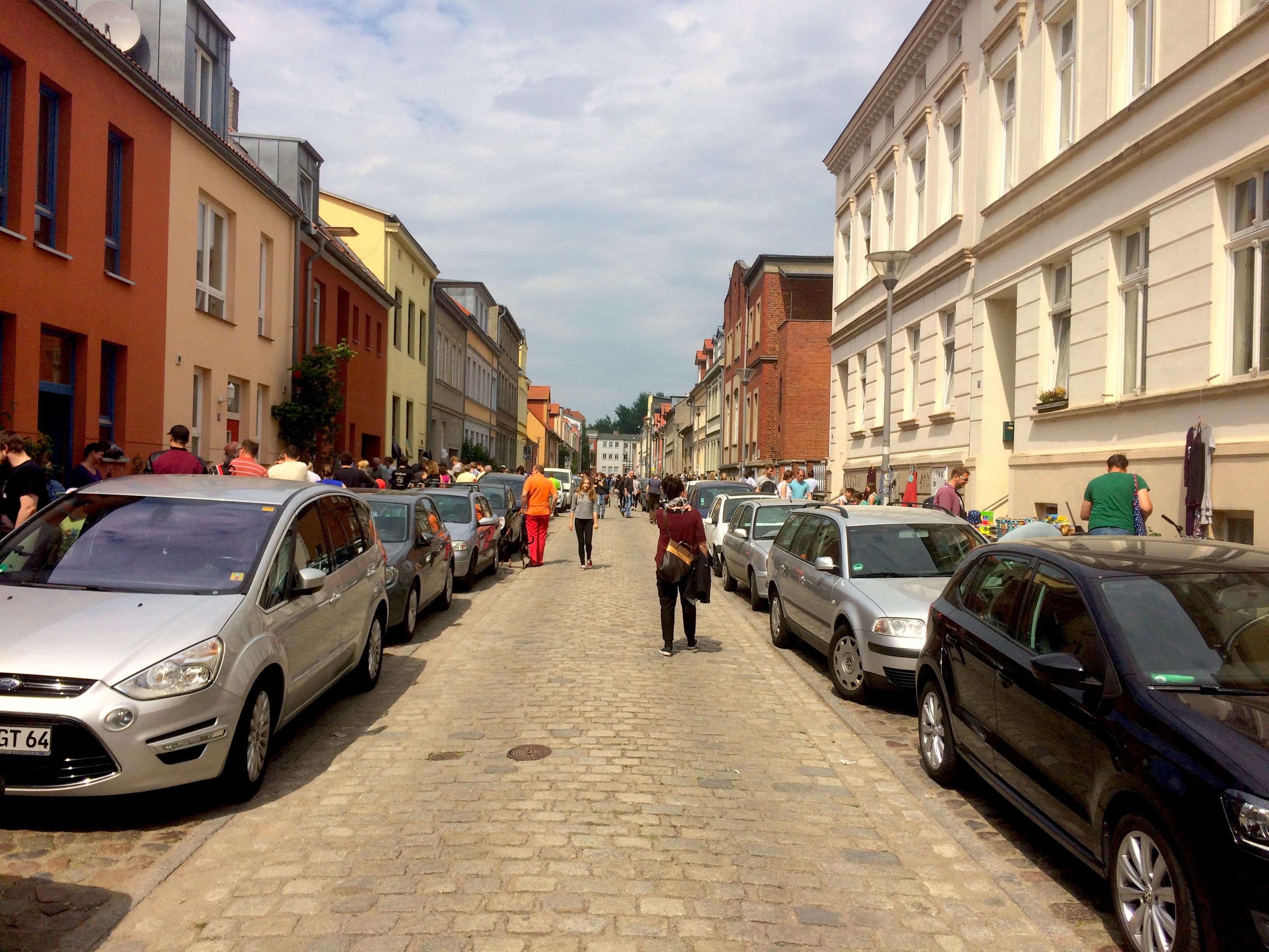 Von Schrott und Schätzen: Fleischervorstadtflohmarkt 2016