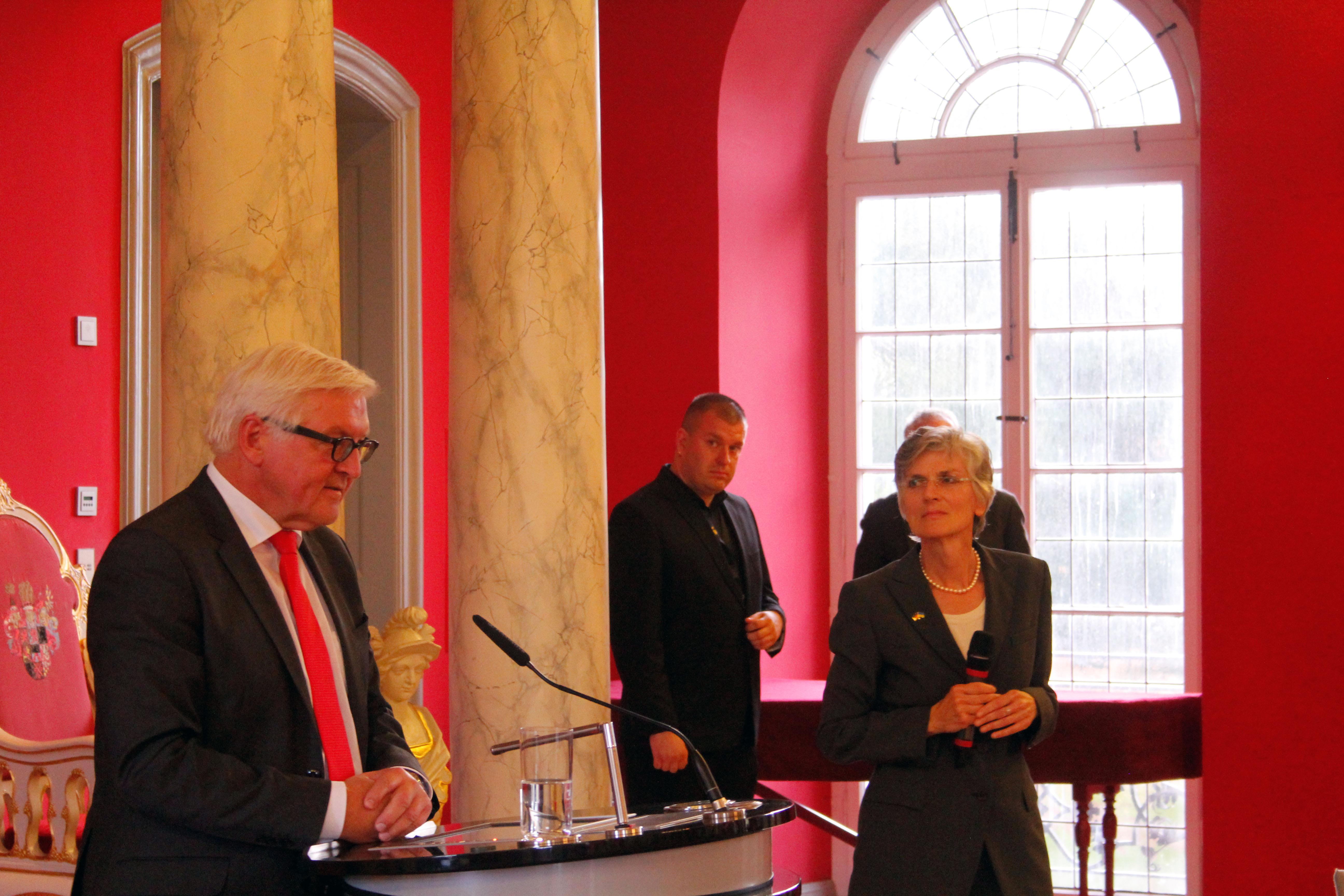 Steinmeier zu Besuch in Greifswald