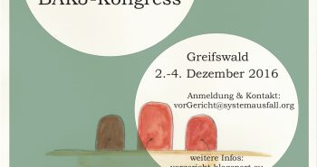 … vor Gericht! AKJ-Bundeskongress in Greifwald