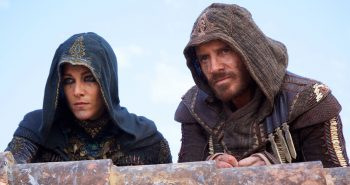 Maria (Ariane Labed) and Aguilar (Michael Fassbender)