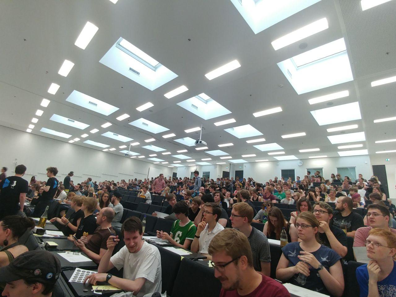 Auf Kosten der Studierendenschaft