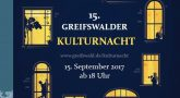 15. Greifswalder Kulturnacht