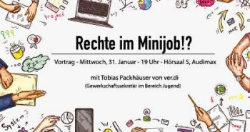 Vortrag: Rechte im Minijob