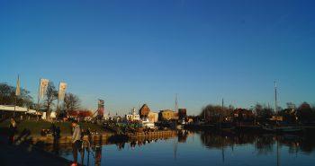 Grüner Museumshafen oder graue Betonfläche ?