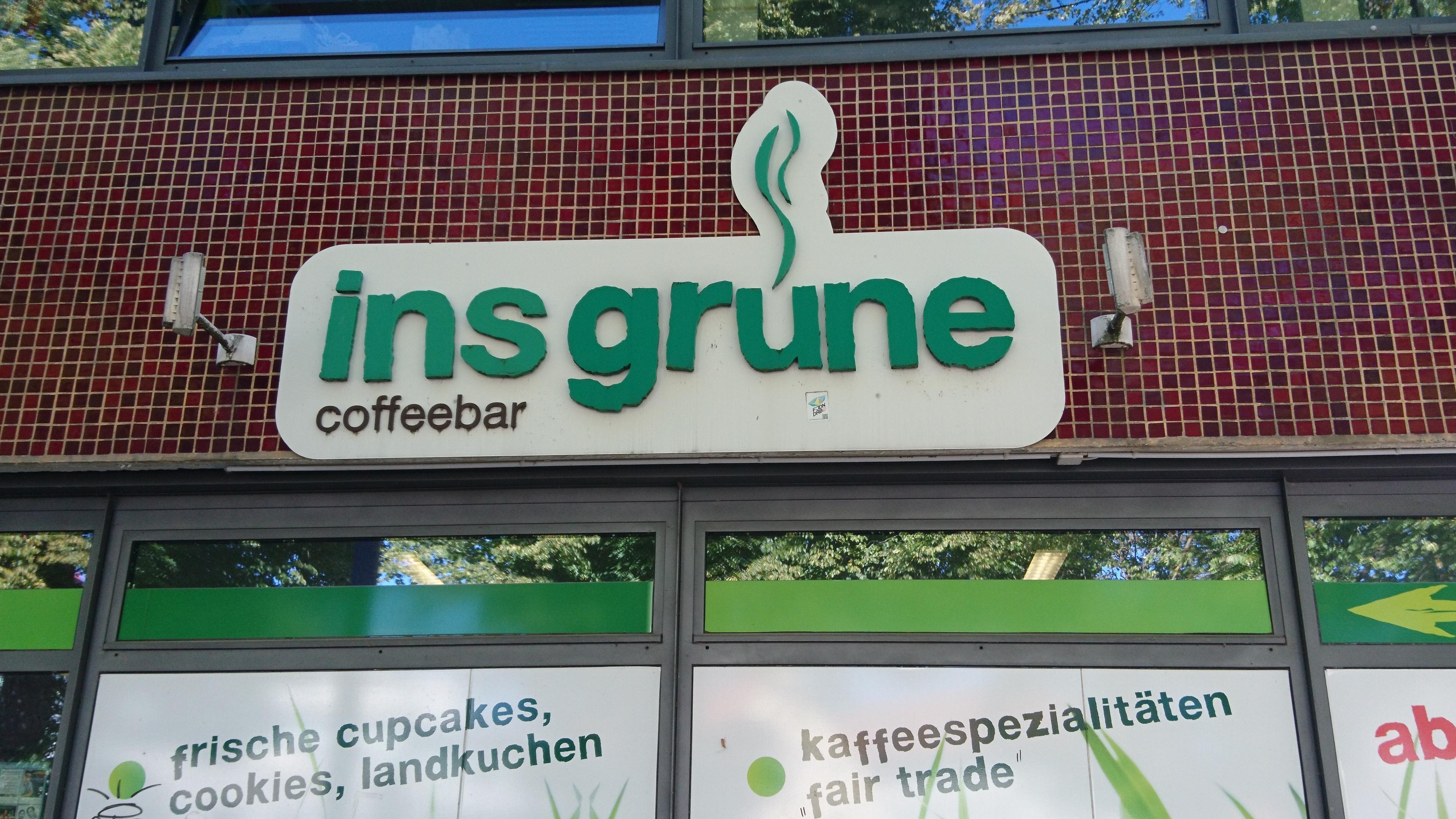 """""""ins grüne"""" geschlossen"""