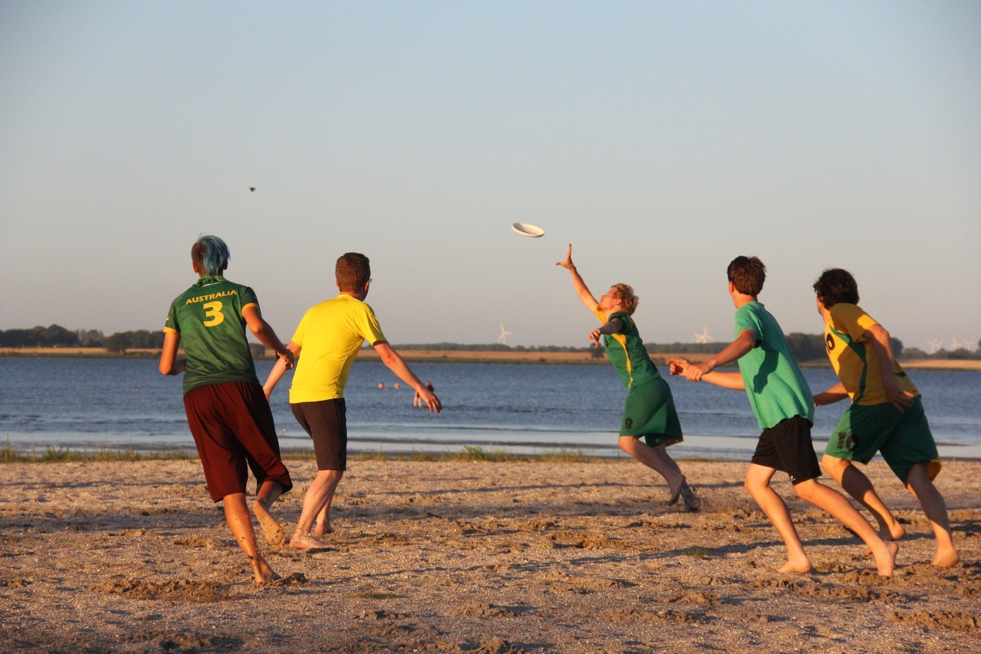 5. Frisbeeturnier am Strand in Eldena