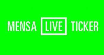 Mensa-Live-Ticker: Letzter Tag am Schießwall