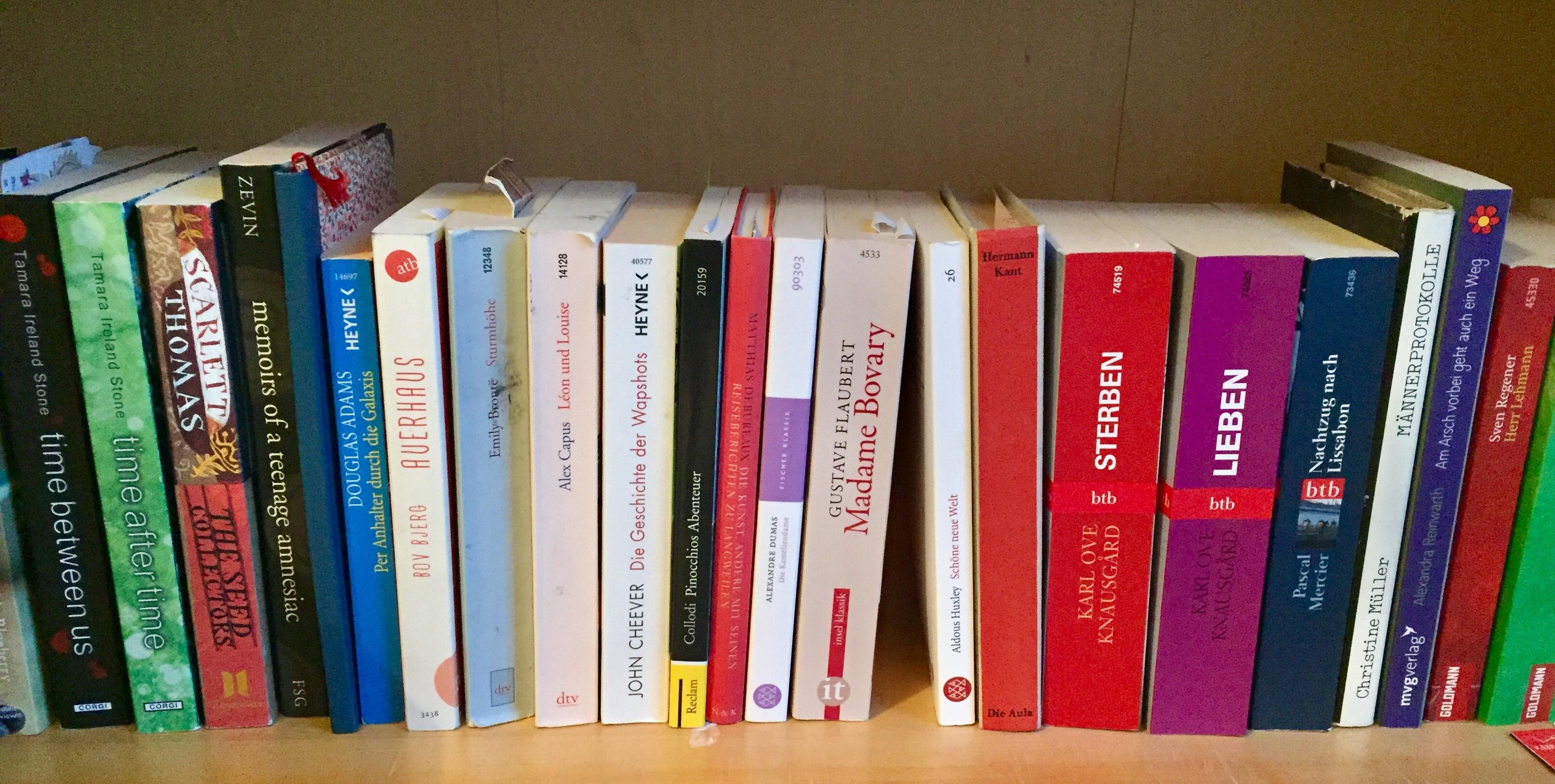 Bücher aus aller Welt in Deinem Briefkasten