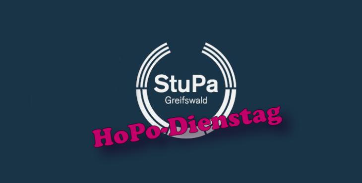 HoPo Dienstag – Ausgesetzt, nicht ausgestorben! – StuPa AGs (mm137 Oktober 2018)