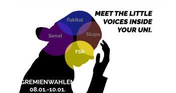 Bekanntmachung der Wahlvorschläge für die Fachschaftsräte