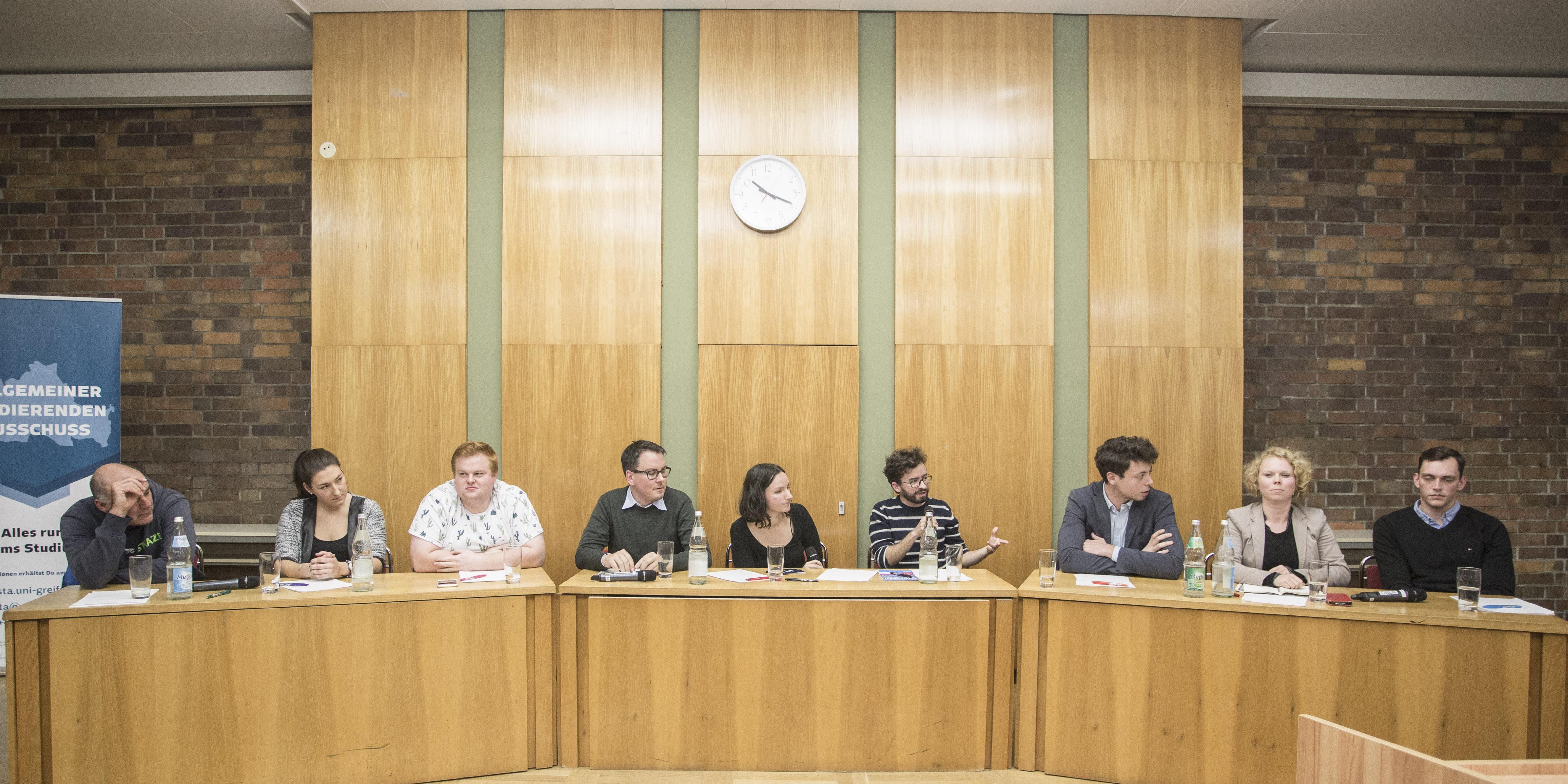 Podiumsdiskussion: Studentenverbindungen
