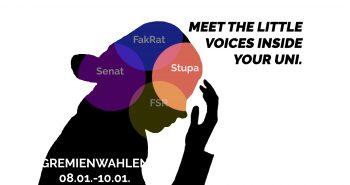 Bekanntmachung der Wahlvorschläge für das StuPa