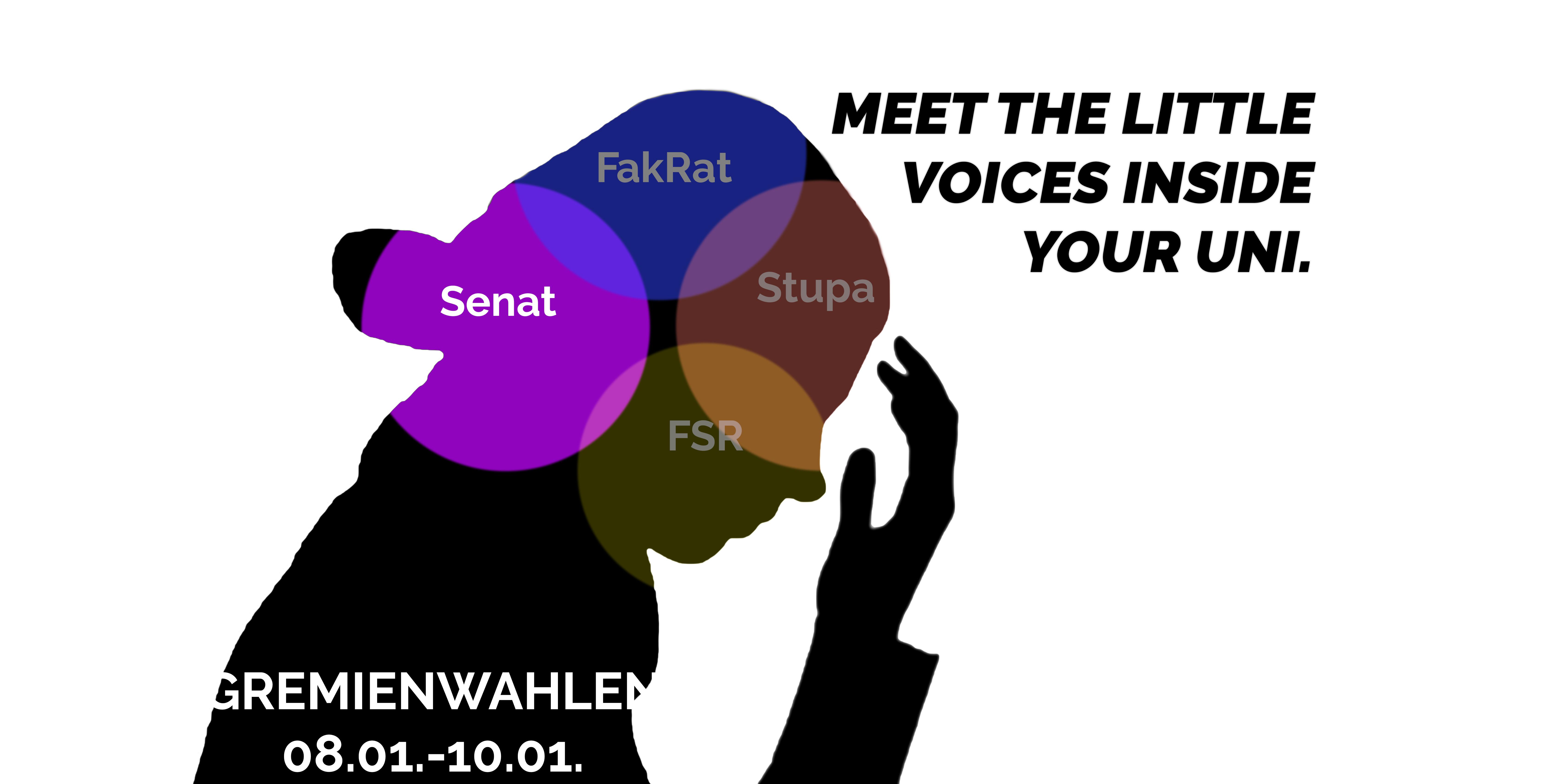 Bekanntmachung der Wahlvorschläge für den Senat