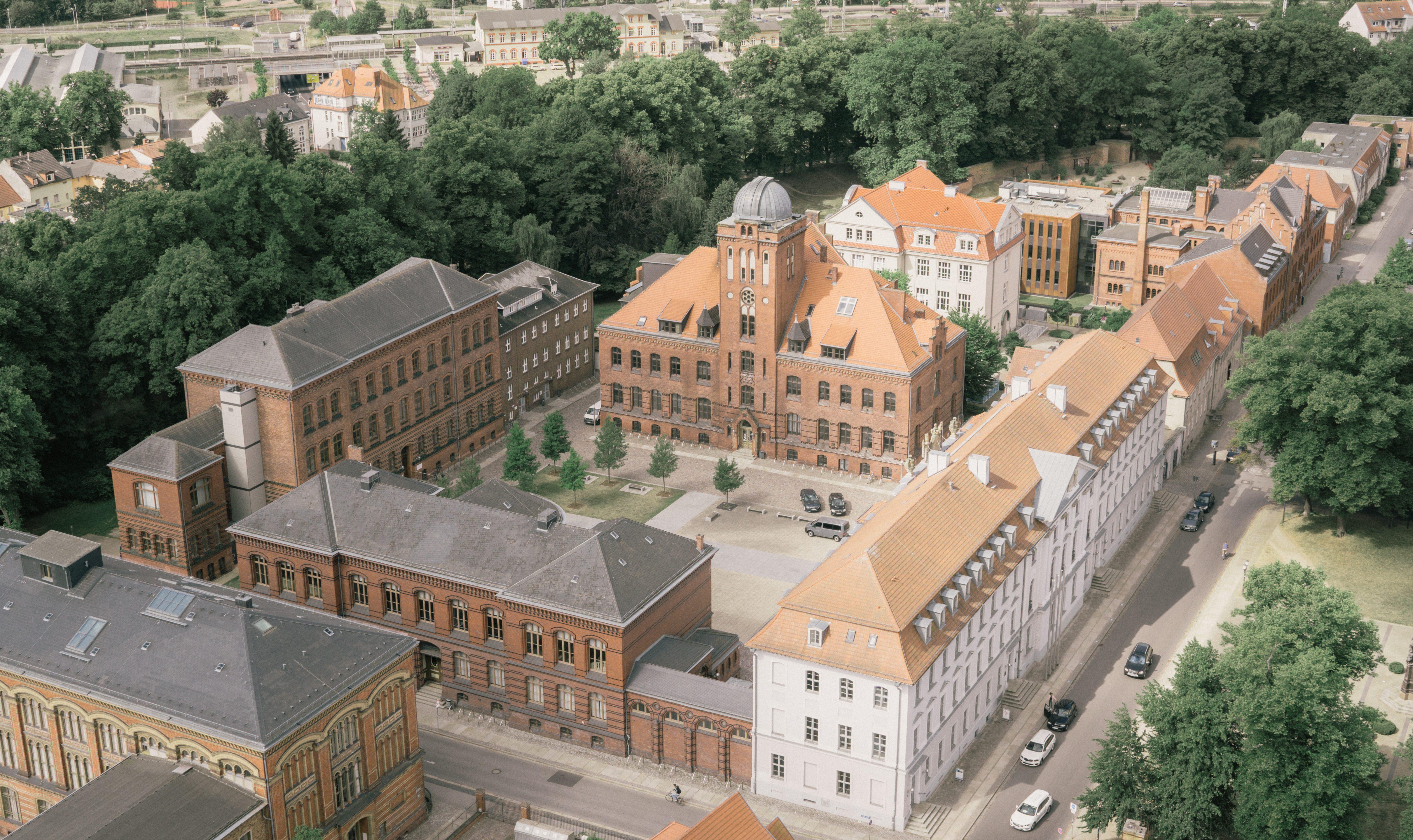 Historischer Campus Universität Greifswald