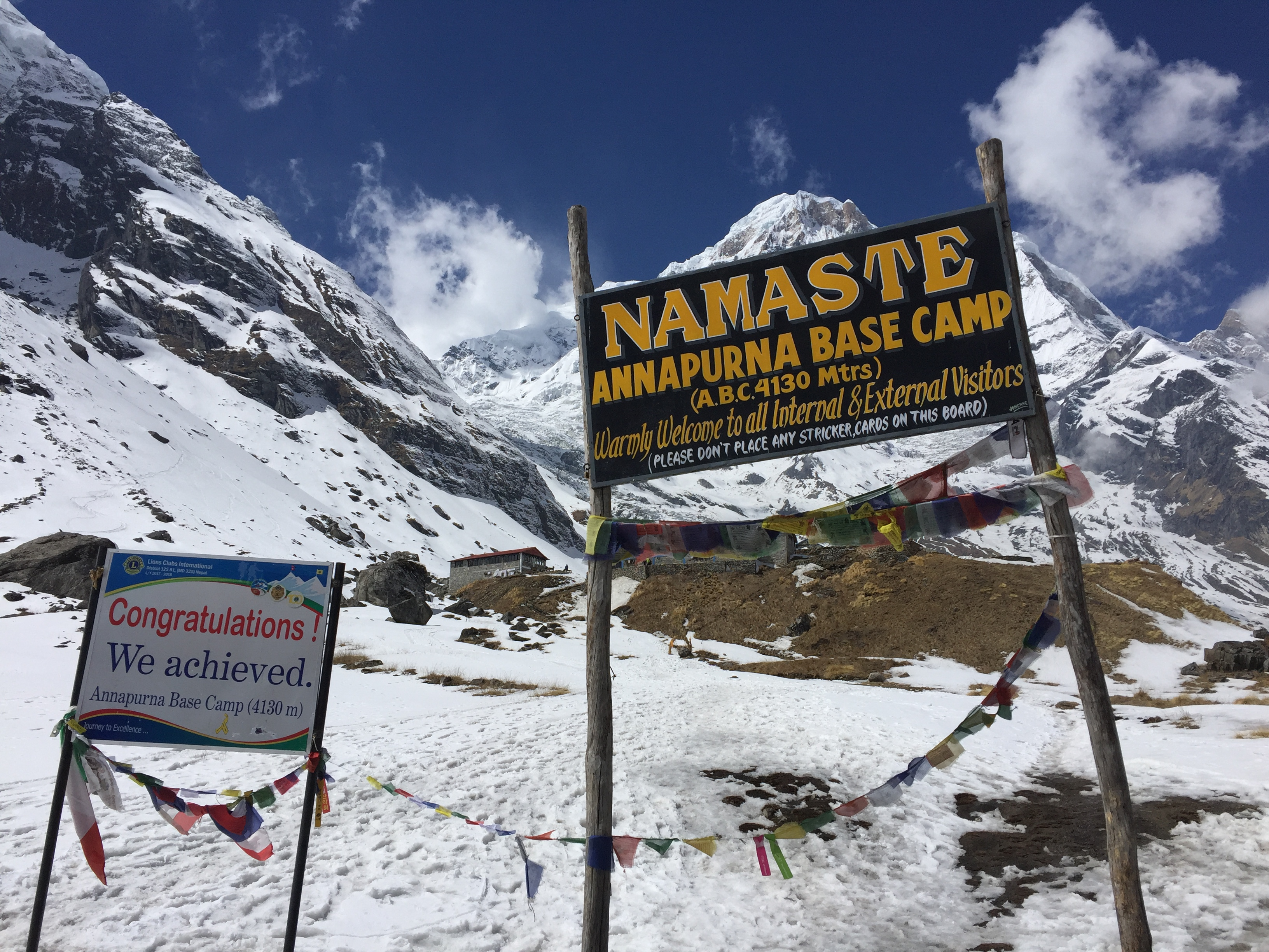 Eine Auszeit im Himalaya