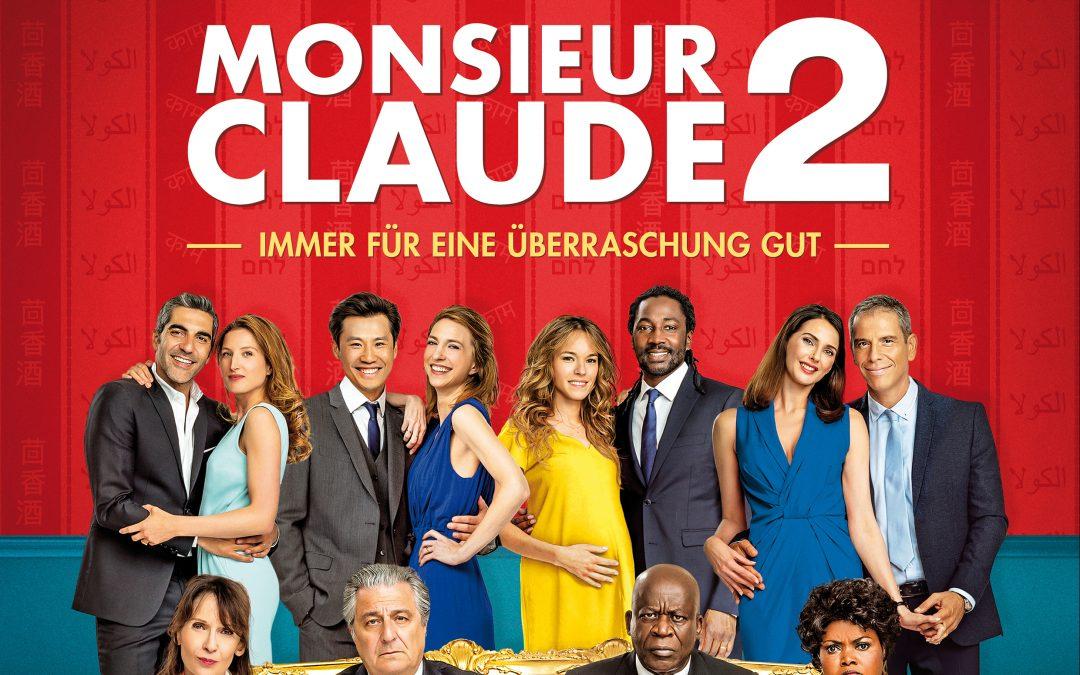 Monsieur Claude Teil 2 – Immer für eine Überraschung gut