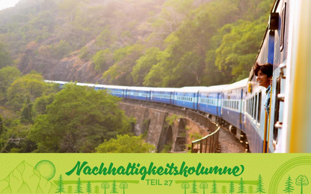 Tipps zum nachhaltigen Reisen