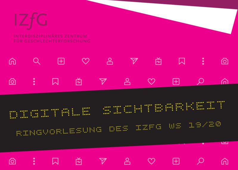 """Eröffnung der Ringvorlesung """"Digitale Sichtbarkeit"""" des IZfG"""