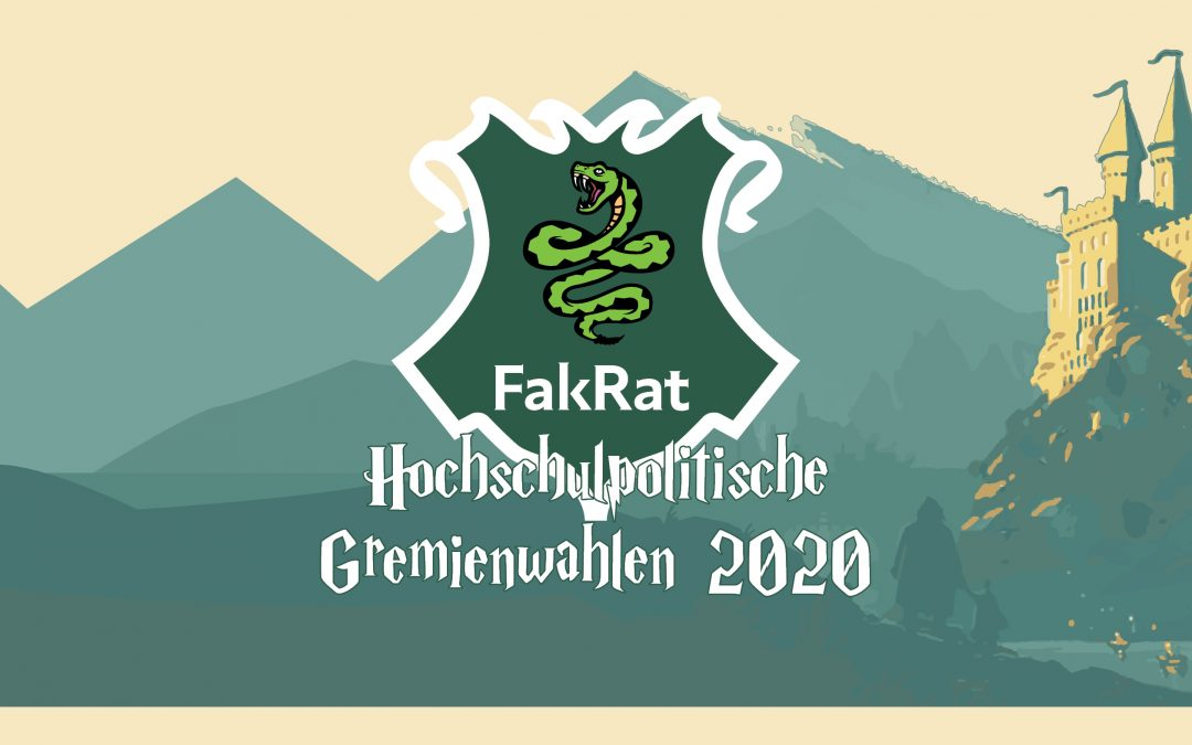 Bekanntmachung der Wahlvorschläge für die Fakultätsräte (FakRat)