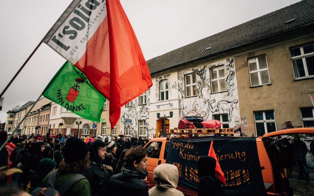 We're not gonna take it – Gemeinsam gegen rechte Gewalt und in Solidarität mit dem Jugendzentrum Klex