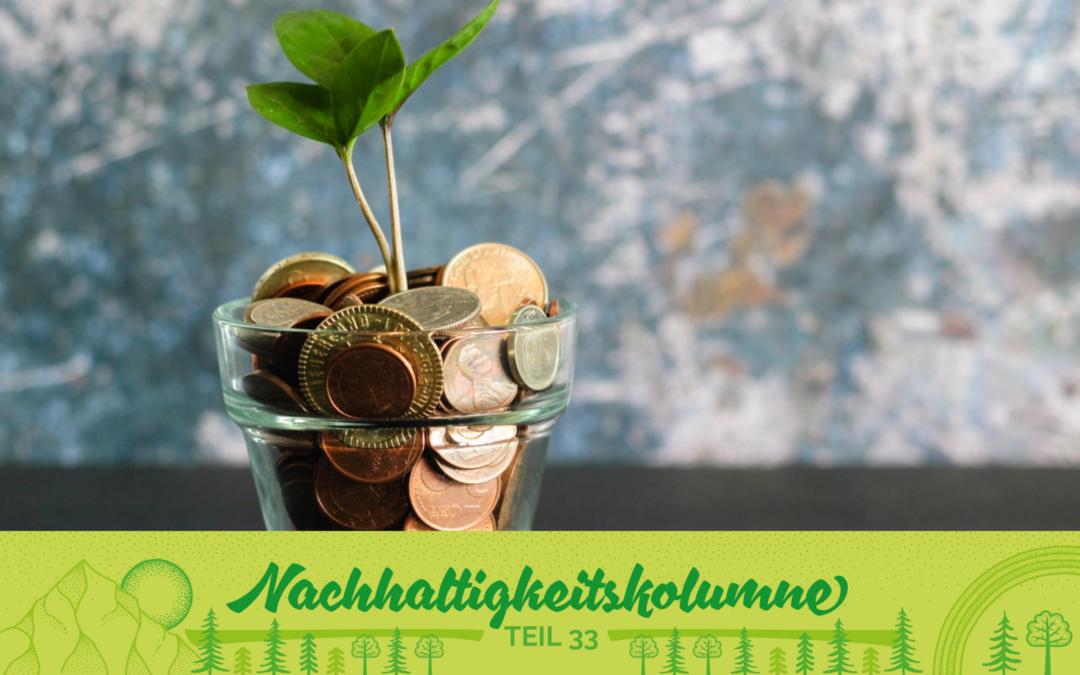 Grüne Banken – Arbeitet dein Geld nachhaltig?