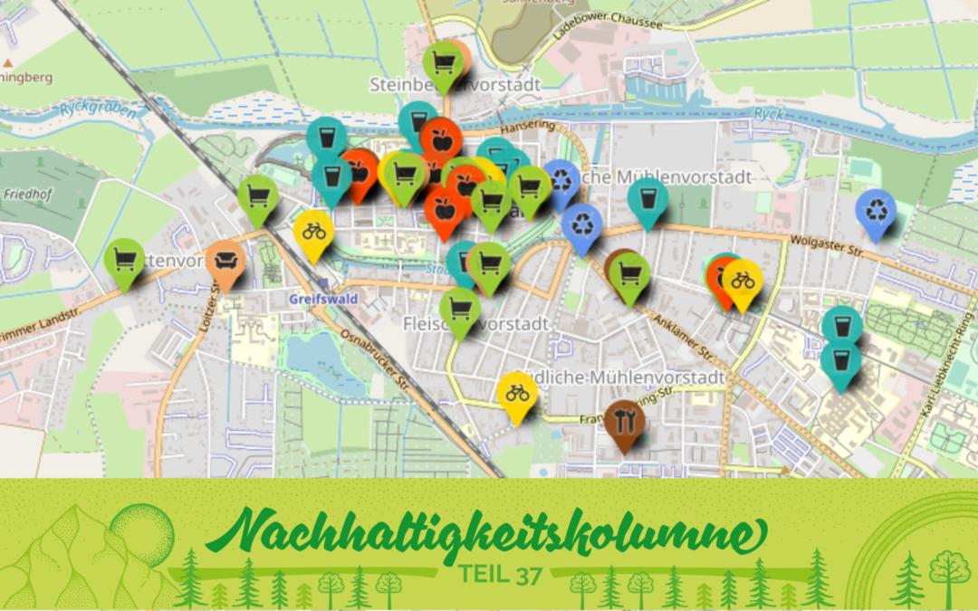 HGWegweiser – die interaktive Karte durchs nachhaltige Greifswald