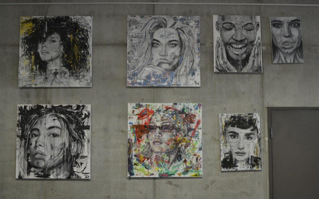 Von Rihanna bis Einstein — Welches Gesicht steckt hinter den Porträts?