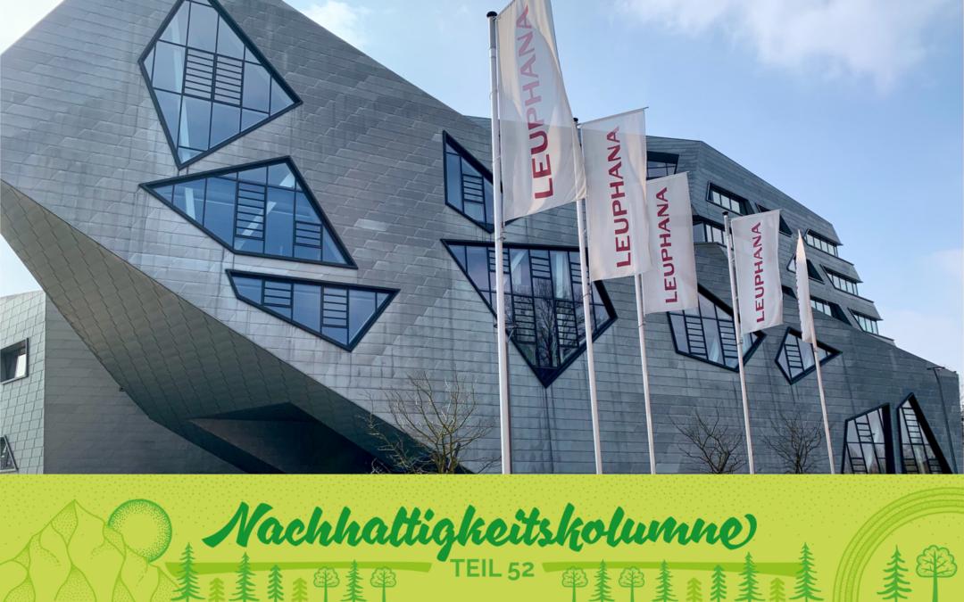 Leuchtturmprojekt GreenOffice –Lernen von der CO2 neutralen Leuphana Universität Lüneburg