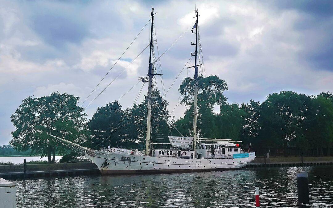 Open Ship Greif: Ein Greifswalder Wahrzeichen öffnet die Gangway