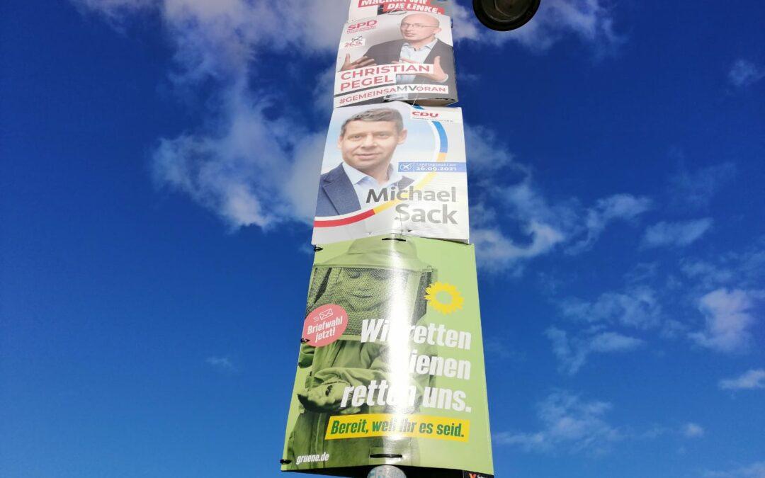 Ankündiger zur Landtagswahl
