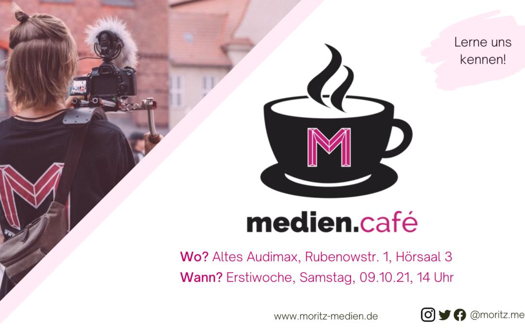 Lernt uns kennen – diesen Samstag ist medien.café!